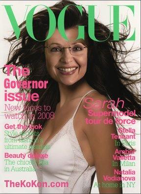 Sarah Palin, Vogue